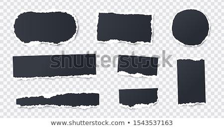 набор прямоугольный черный цвета кадры большой Сток-фото © robuart