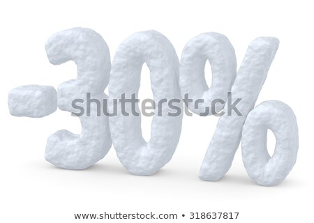 O melhor desconto 30 por cento preço Foto stock © robuart