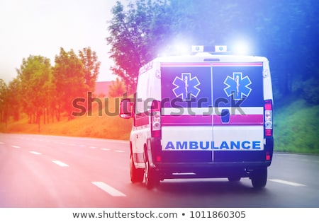 Accident ambulance transport hospital Stock photo © Lopolo