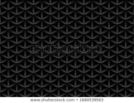 Sin costura volumen blanco negro patrón flor vida Foto stock © Iaroslava