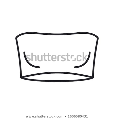 Strapless Bra Icon Vector Outline Illustration Stock photo © pikepicture