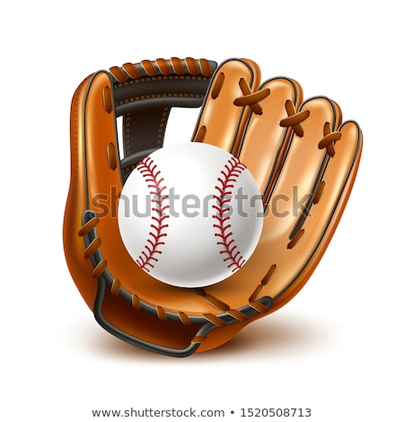 Baseball stadion sportu liga ulotki banner Zdjęcia stock © pikepicture