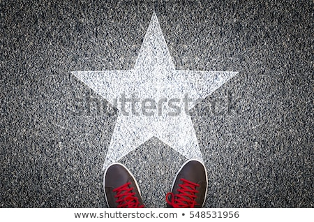 Man on walk of fame Stock photo © curaphotography