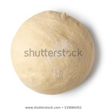 balle · maison · fraîches · pâtes · planche · à · découper - photo stock © meodif