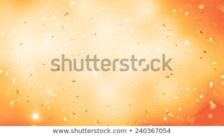 hermosa · naranja · papel · resumen · cuadro · rojo - foto stock © FransysMaslo