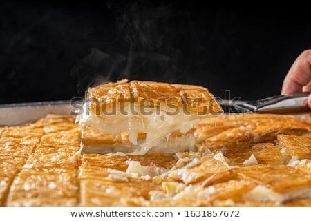 таблице рамадан подготовленный служивший продовольствие еды Сток-фото © shamtor