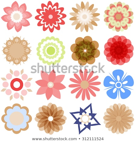 Various colorful abstract icons, Set 23 stock photo © cidepix