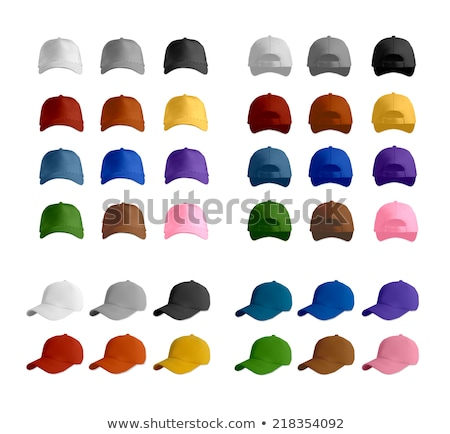 Pink baseball cap isolated on white Stock photo © tetkoren