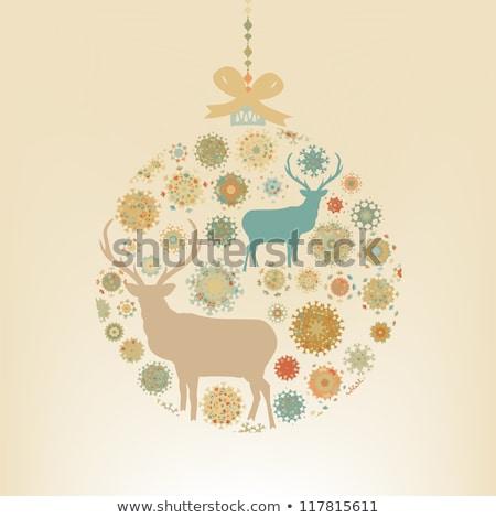 Рождества · прибыль · на · акцию · вектора · файла - Сток-фото © beholdereye