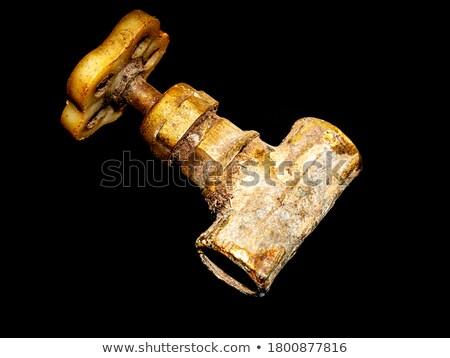rusty steel pipes stock photo © redpixel