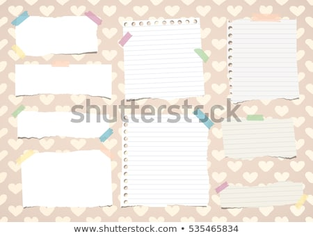 blue pink brown grey note book stock photo © witthaya