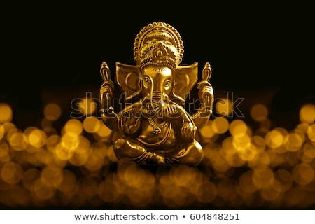 Deus templo Tailândia vermelho cabeça coroa Foto stock © stoonn