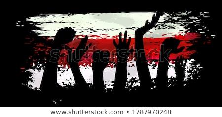 Belarus retro flag Stock photo © RedKoala