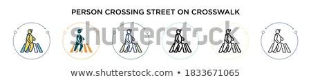 2 ボタン 市 通り にログイン ストックフォト © jadthree