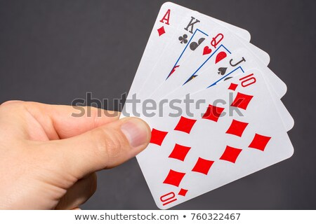 straight poker stock photo © compuinfoto