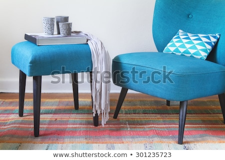 texture ottoman cushion Stock photo © tdoes
