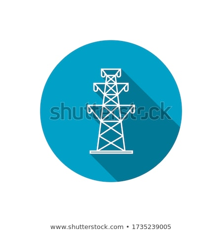 High voltage transmission lines Stock photo © bbbar