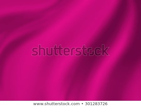 Creased Pink Fabric Background Stock photo © THP