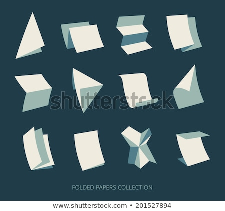 Mail logo on a napkin Stock photo © a2bb5s