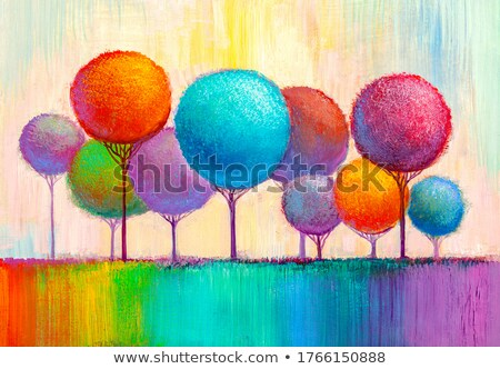Paint pots and brushes Stock photo © photography33