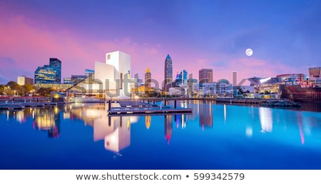 Cleveland -  skyline Stock photo © benkrut