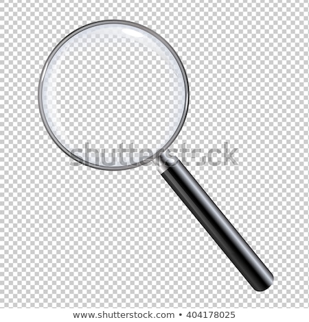 Magnifying Glass And Sheet Of Paper Stock photo © adamson