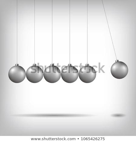 newtons cradle vector Stock photo © robertosch