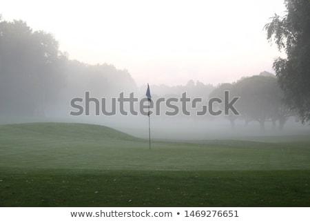 golf · mattina · vuota · campo · da · golf · autunno · campo - foto d'archivio © capturelight