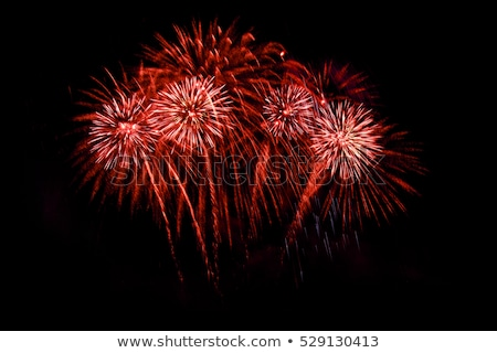 Stockfoto: Rood · vuurwerk · groeiend · meer · unie · Washington