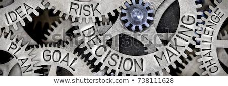 Ideas riesgo peligro fracaso nuevos idea Foto stock © Lightsource