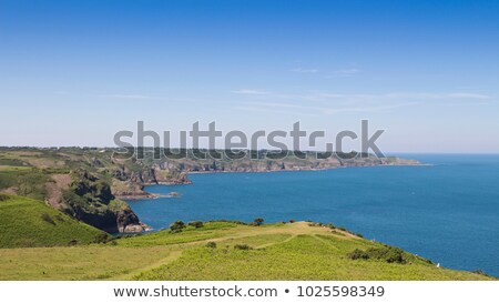 Picturesque rocky coast, Jersey, Channel Islands Stock photo © Bertl123