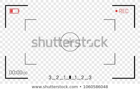 表示 カメラ 孤立した 白 技術 背景 ストックフォト © Grazvydas