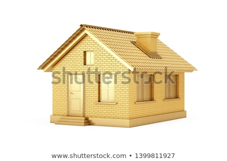 Gold House Stock photo © idesign