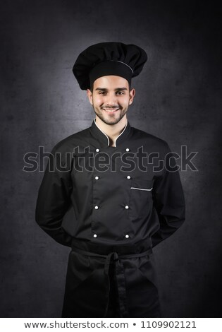 chef · homem · isolado · branco · serviço · seis - foto stock © wavebreak_media