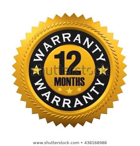 Garantizar sello blanco negocios oficina Foto stock © chrisdorney