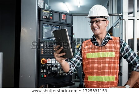 electrician with equipment Stock photo © photography33
