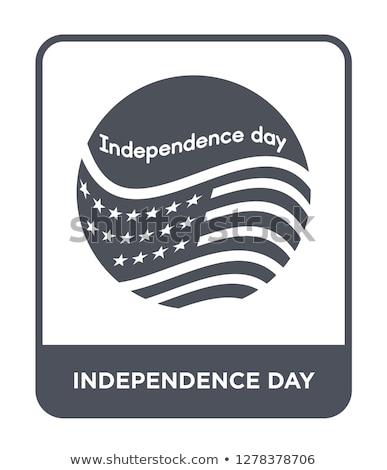 dag · Verenigde · Staten · sterren · kleurrijk · illustratie · vector - stockfoto © balasoiu