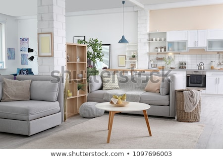 living room detail interior design stock photo © podsolnukh