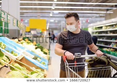 Masks at market Stock photo © Koufax73