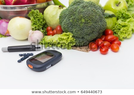 Diabetic Glucose meter Stock photo © photosoup