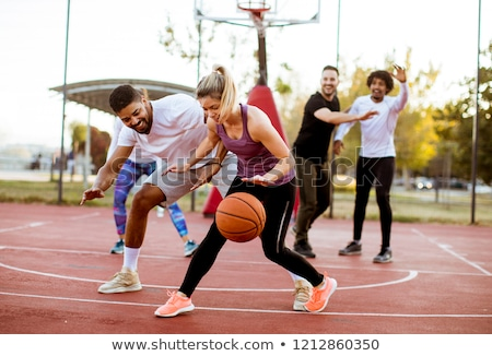 Basketball Group Stock photo © Lightsource