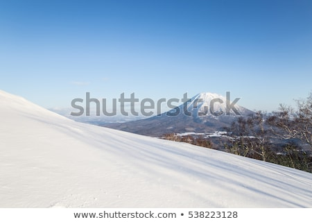 wolken · sneeuw · helling · Mount · Fuji · schoonheid · berg - stockfoto © shihina