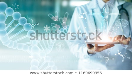future or modern medical technologies concept stock photo © hasloo