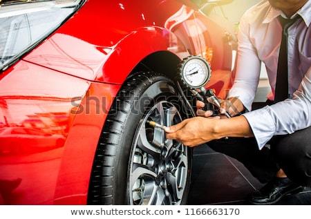 tire pressure gauge stock photo © cteconsulting