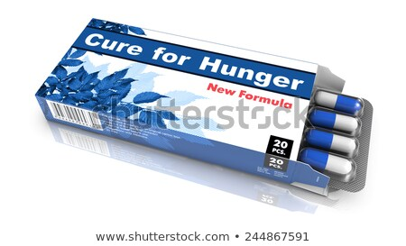 Cure for Hunger - Blister Pack Tablets. Stock photo © tashatuvango