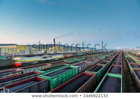 speelgoed · treinen · ingesteld · aanpasbare · locomotief - stockfoto © nelsonart