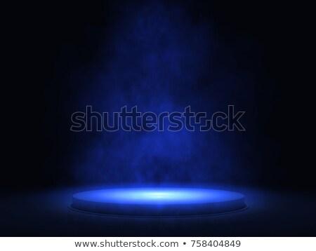 Kék üres jelenet méretezhető grafika előkészített Stock fotó © nikdoorg