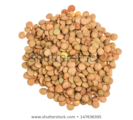 Dried brown lentils, Lens culinaris Stock photo © ozgur