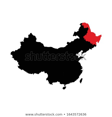 Map of People's Republic of China - Heilongjiang province Stock photo © Istanbul2009