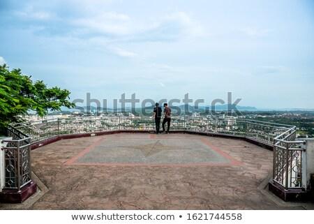 半島 · パノラマ · クラビ · タイ · 高い · 壁 - ストックフォト © yongkiet
